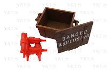 YRTS Playmobil 5250 Caja Dinamita con Tapa y Explosivos Oeste ¡New!