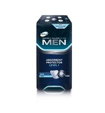 Tena Incontinence Pad for Men Level 1 245ml Pack of 24 Discreet Protection