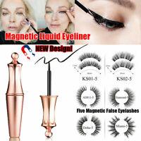 Magnetic Liquid Eyeliners With Magnetic False Eyelashes Easy To Wear Lashes Kit