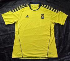 SCOTLAND away shirt jersey ADIDAS 2010-2011 Carling Nations Cup / adult SIZE XL