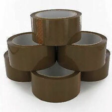 1 Roll Packaging Tape Super Strong Brown Parcel Packing Sealing Tapes 50*48cm