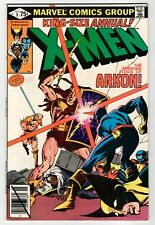 Marvel - X-MEN KING-SIZE ANNUAL #3 - Perez Art - VF 1979 Vintage Comic