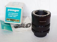 Panagor Tubo De Extensión Set 12mm 20mm 36mm Para Montura Minolta Md