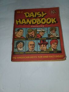 1948 DAISY HANDBOOK NO. 2 CAPTAIN MARVEL, RED RYDER, ROBOTMAN POCKET SIZE COMIC