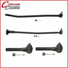 4 Pc Kit Ford F-Super Duty Chassis-CAB 2WD 91-97 Tie Rod Center link