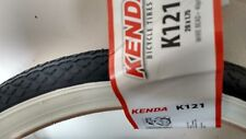 Kenda 20 x 1.75 White Wall Tyres for Shopper or Folding Bike / Cycle KT43