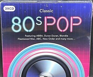 CLASSIC 80s POP - VARIOUS ARTISTS, TRIPLE CD ALBUM, (2017) *NEW / SEALED*