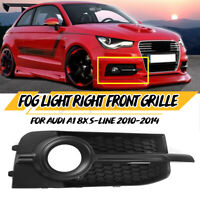 Front Right Fog Light Lamp Cover Grille Grill For Audi A1 8X S-LINE 2010-2014