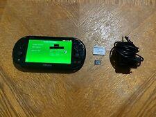 Sony PlayStation PS Vita 2000 32GB sd2vita Memory Card 3.60 Black Console System