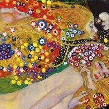 Gustav Klimt - Wasserschlangen Erotik Poster Kunstdruck Bild (40x40cm) #60830