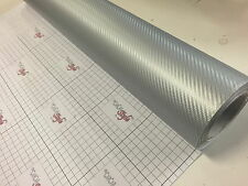 3D Carbon Fibre Vinyl 【10m(32.8ft) x 1.52m(59.8in)】Wrap Film Sticker AirFree