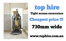 Excavator hire $199. Dingo hire $149. Cheapest HIRE SHOP. Same day delivery