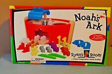 Ryan's Room Noah's Ark Small World Toys Wood New Sealed NIB 2005