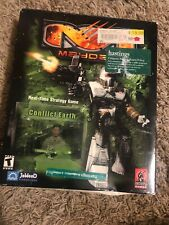 Mayday Conflict Earth PC mech war action military strategy BIG BOX Complete CIB