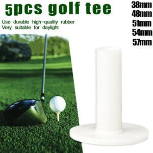Range Tees Practice Mat Golf Accessories Ball Holder Golf Tees Golf Rubber Tees