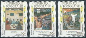 Togo - Ostern Satz postfrisch 1987 Mi. 2009-2011