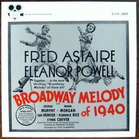 """""""Broadway Melody of 1940"""" ~ Movie Soundtrack ~ LP ~ Fred Astaire"""