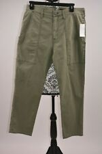 Hudson Jeans Women's Olive The Leverage High-Rise Ankle Cargo Size 29