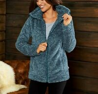 Womens Esmara Fleece Zip Up Cardigan  Jacket with Pockets Size 8/10 12/14/16/18