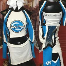 "Real Cheerleading Uniform All Stars 32-36"" Top 28-34"" Waist"
