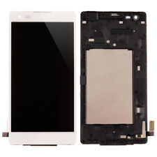 For LG Tribute HD LS676 LG K6B LCD Display Touch Screen Digitizer Replace Frame