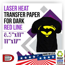 "Red Line Laser Heat Transfer Paper For Dark 11""x17"""