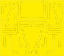 Eduard Peinture Masque EX606 1/48 Mcdonnell-Douglas F/A-18b / D Tface Kinetic