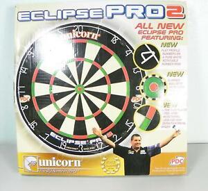 Unicorn Eclipse Pro 2 Dartboard Dartscheibe Durchmesser 46cm Turnierboard  FD7
