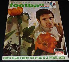 FOOTBALL MAGAZINE #133 1971 CARNUS SALIF KEITA AS SAINT-ETIENNE AMSUD CEDOLIN