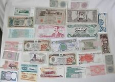 Twenty-Seven Piece Lot of New World Currency Notes: Iraq, Indonesia, Afghanistan