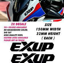 Yamaha EXUP Stickers Decals Motorcycle Moto Fairing Panel Belly Pan