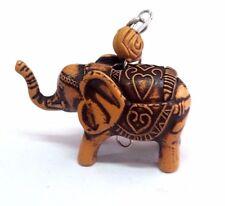 Thai Elephant Key Chain Keychain Resin Handmade Cute Collectibles Souvenir Gift