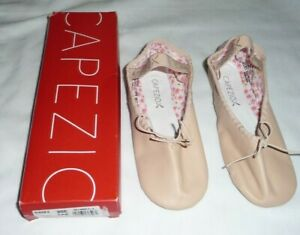 Capezio Daisy 205X Leather Pink Ballet Shoes (Toddler/Little Kid) Narrow 4 N NEW