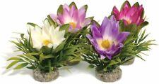 Sydeco Lotus Flower Aquarium Plastic Plant | Fish