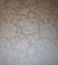 DONGHIA  Large Scale Damask Worsted Wool green 5+ yards  New