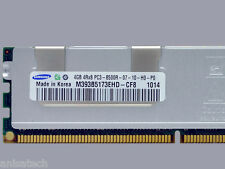 24GB 6 x4GB PC3 -8500R DDR3 1066MHz ECC Registered QUAD RANK Dell Poweredge R310
