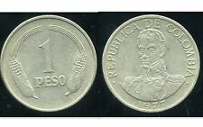 COLOMBIE 1 peso  1977  ( bis )