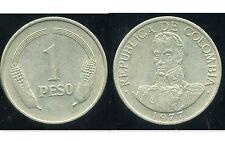 COLOMBIE 1 peso  1977