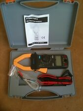 METRAL ALPHATEK TEK 680 AC / DC DIGITAL CLAMP METER   NEW in CARRY CASE