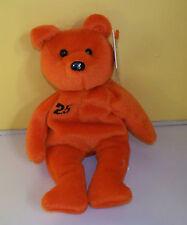 Bam Beano's~Barry Bonds #25~ Orange Bear Bean Bag~Soft Plush Stuffed Animal