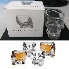 Bones Armor Warrior Skull Designed High Wine Glass Cup Mug Barware Drinkware