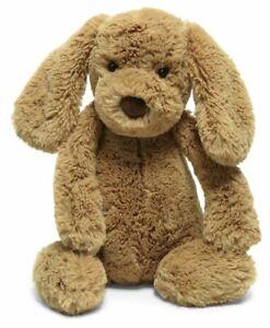 Jellycat Bashful Toffee Puppy Stuffed Animal, Medium, 12 inches