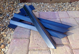 10 x Railway Sleeper Bracket Steel for Driveway Path Edging Easy Fix Many Sizes