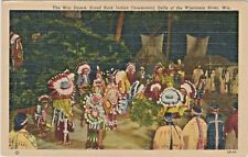 War Dance, Stand Rock Indian Ceremonial, Dells of the Wisconsin River, Wisconsin