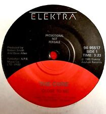 """THE CURE -Close To Me- Rare Canadian Promo 7"""" (Vinyl Record)"""