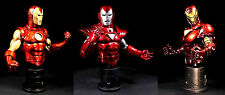 Iron Man Group 2 3 pack Bowen Marvel Comics Bust Statue Set Classic Stealth 2020