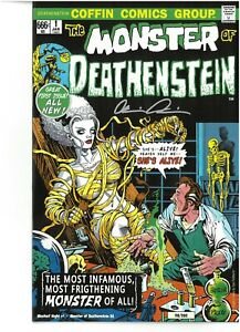 Lady Death Mischief Night MONSTER OF DEATHENSTEIN sign PulidoCOA NM FREE UK POST