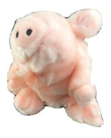 "SKM Enterprises Plush Pig Stuffed Animal Toy Pink Lovey Bean Bag 14"" Rare"