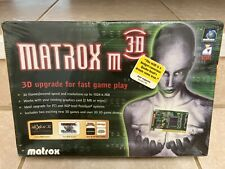 Vintage Matrox m3D (PowerVR PCX2) 4MB PCI Graphics Accelerator - New in Wrap!