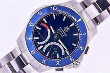 Tag Heuer Aquaracer Calibre S Regatta Mens Quartz Watch Chronograph Watch